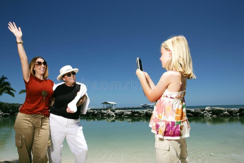 Turisti che catturano le foto immagini stock libere da diritti