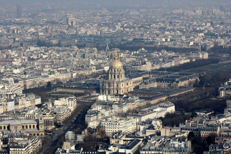 Parigi Les Invalides immagini stock libere da diritti