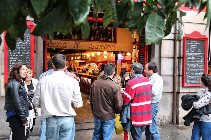 Turisti di Siviglia immagine stock