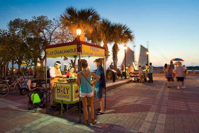 Turisti in Key West fotografie stock