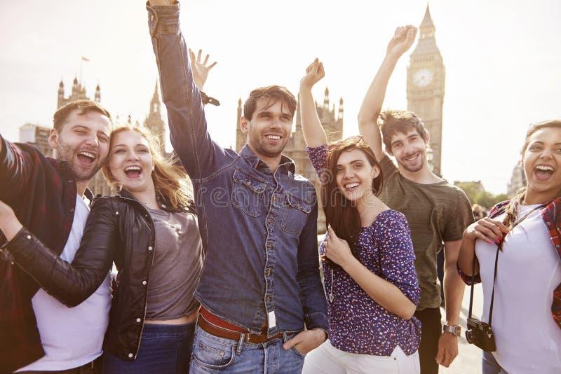 Turisti a Londra fotografia stock