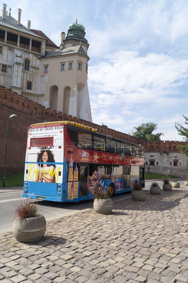 City sightseeing, krakow poland royalty free stock photography