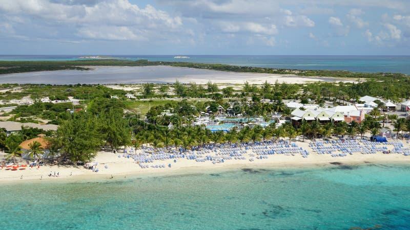 Turk Island grande em Ilhas Turcos e Caicos fotos de stock royalty free