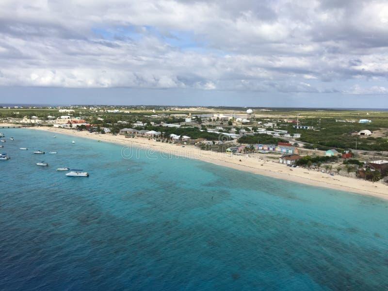 Turk Island grande em Ilhas Turcos e Caicos imagens de stock royalty free