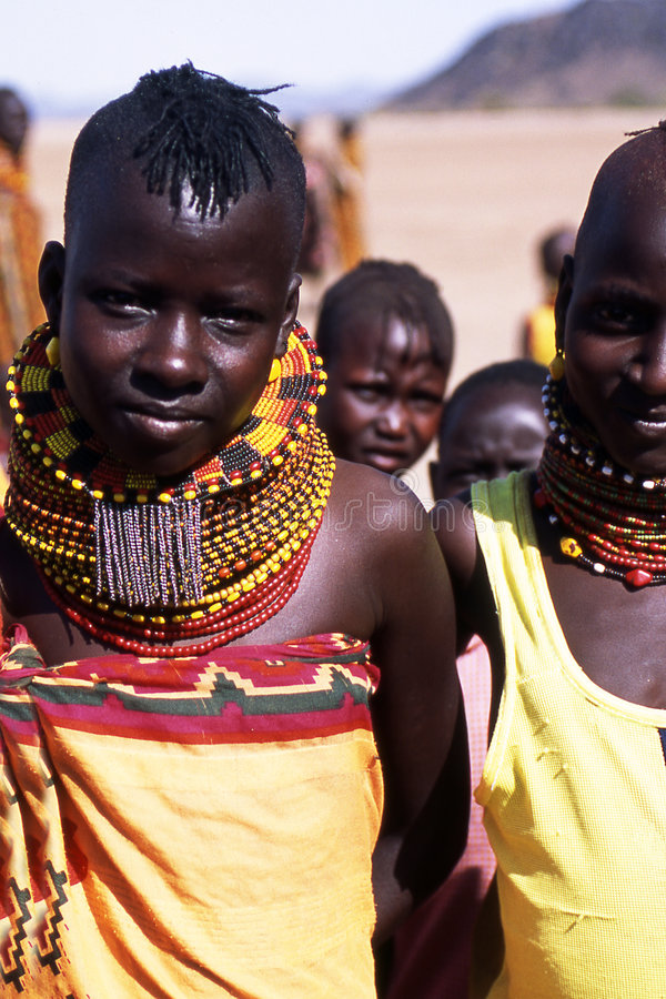 Free Turkana Children Royalty Free Stock Images - 5260959