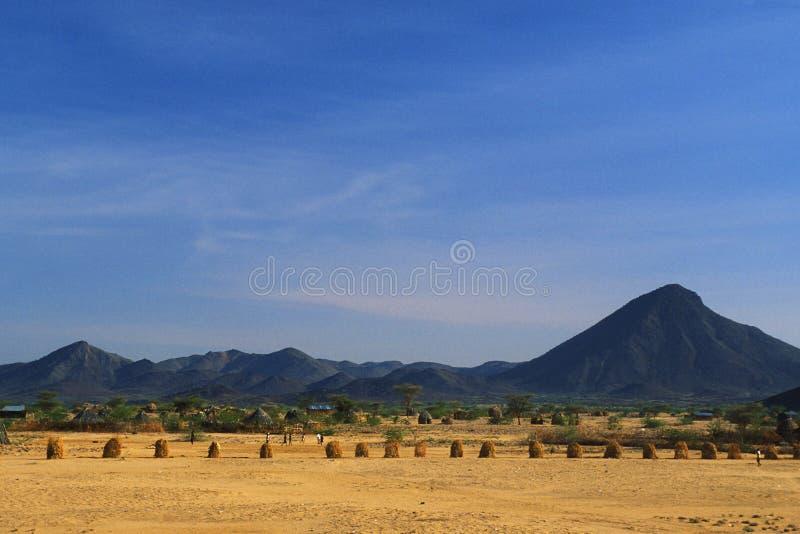Turkana Wüste (Kenia) stockbilder
