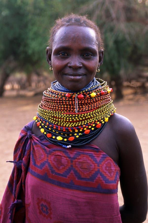 Free Turkana Woman Portrait Royalty Free Stock Image - 5584606