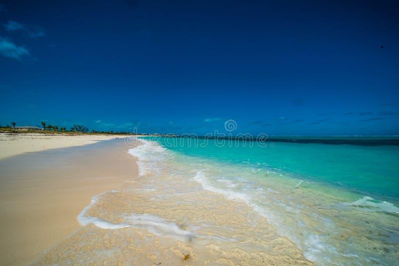Turken en Caicos Strand stock fotografie