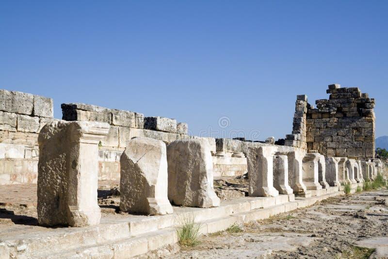Turkey ancient ruins royalty free stock photo