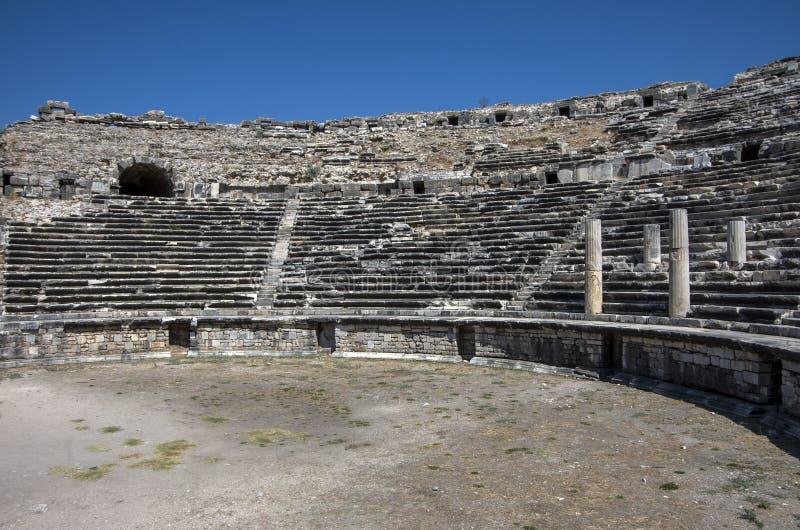 Turkey Aydin Didim Milet Historical Ancient City, travel. royalty free stock image