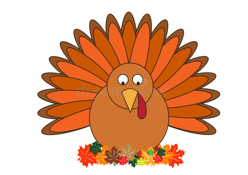 Turkey clipart vector illustration