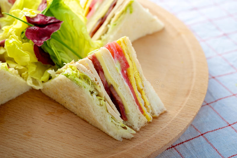 Download Turkey Club Sandwich Stock Images - Image: 33270584