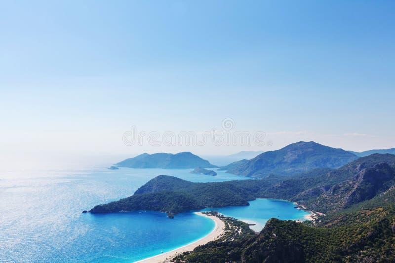 Turkey coast royalty free stock photos