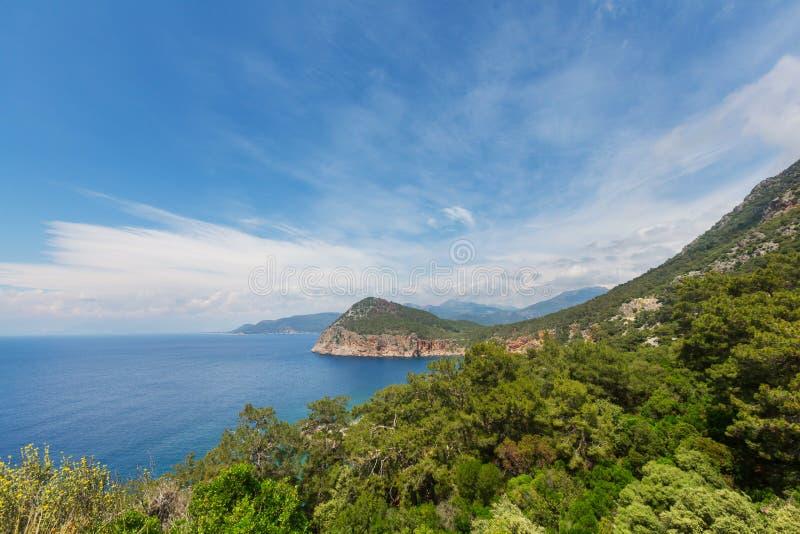 Turkey coast royalty free stock image