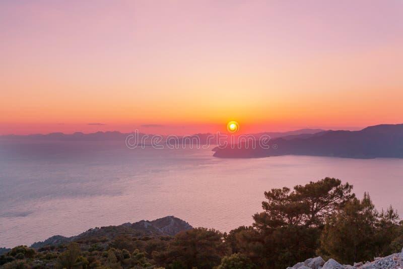 Turkey coast stock image