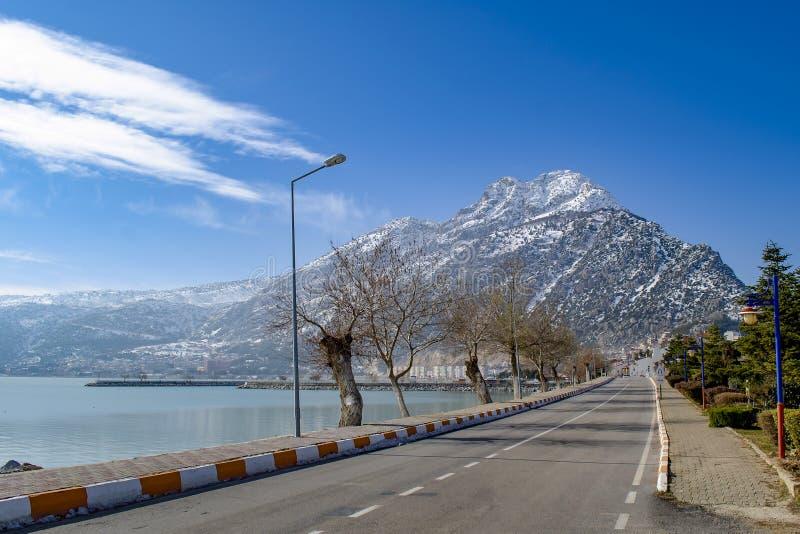 Turkey, Isparta province Egirdir lake royalty free stock photography