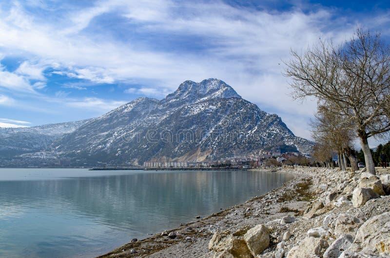 Turkey, Isparta province Egirdir lake royalty free stock photo