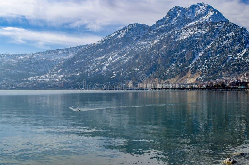 Turkey, Isparta province Egirdir lake royalty free stock images