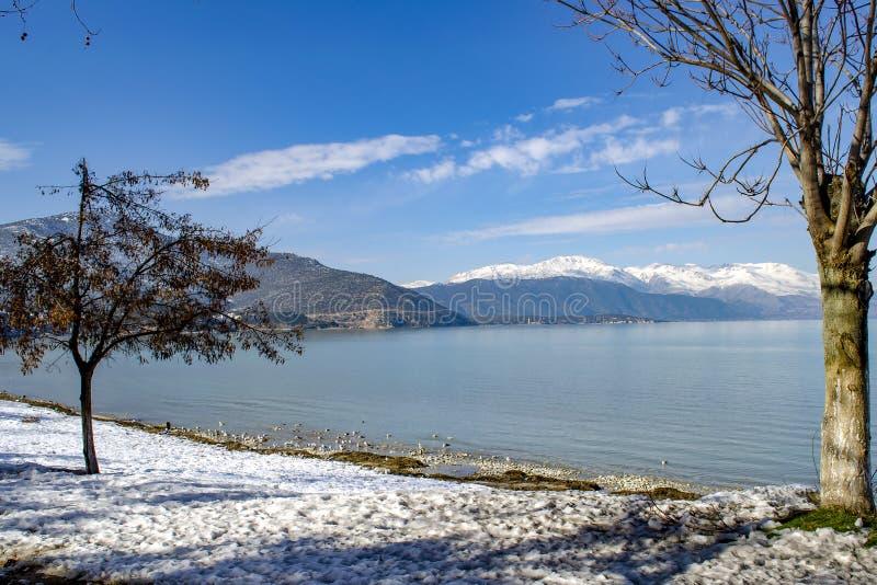 Turkey, Isparta province Egirdir lake stock photography