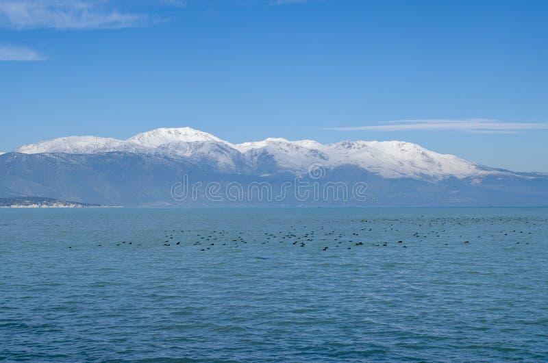 Turkey, Isparta province Egirdir lake royalty free stock image