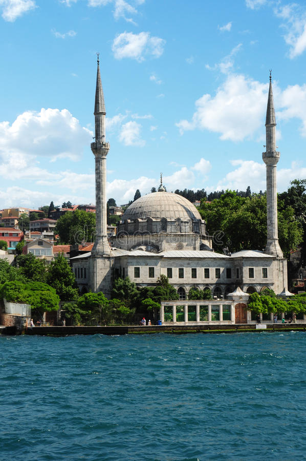 Turkey, Istanbul, Beylerbeyi Mosque royalty free stock images