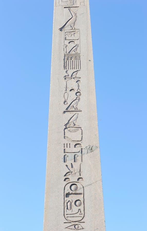Turkey. Istanbul. Egyptian Obelisk Stock Photos
