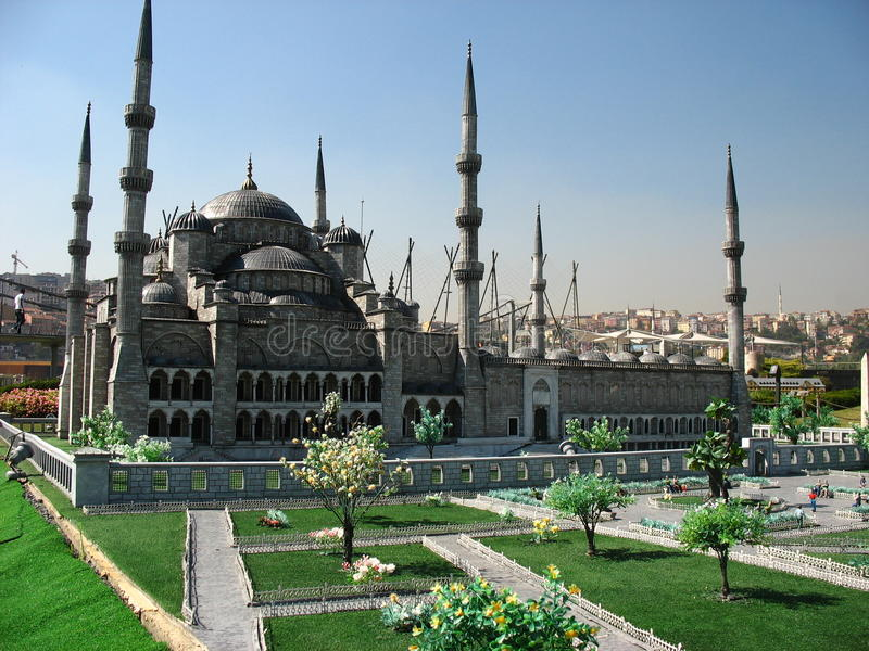 Turkey miniature royalty free stock photography