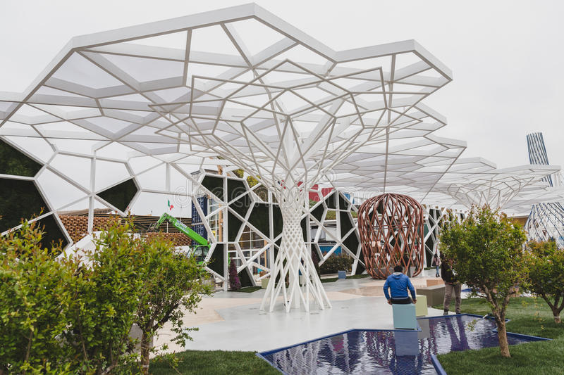 Expo Milan Stands : Turkey pavilion at expo in milan italy editorial