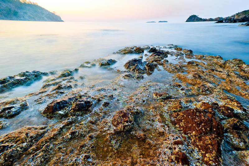 Download Turkey Phaselis, Sunken Into Sea Ruins Of An Ancient Civilization Stock Photo - Image: 32771204