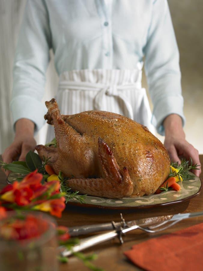 Turkey Platter Royalty Free Stock Images
