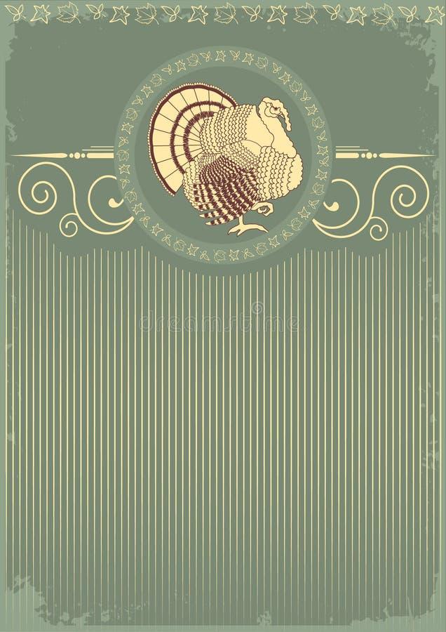 Turkey postcard stock photo