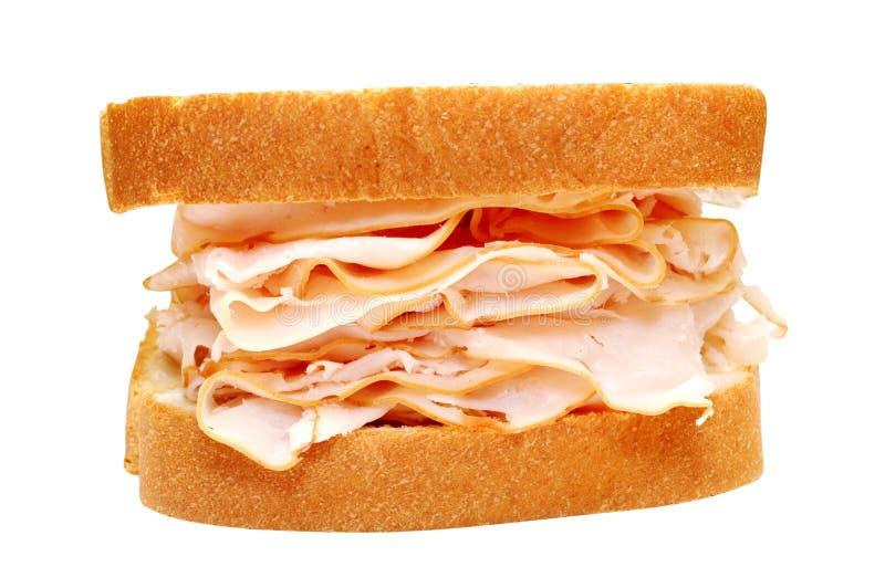 Turkey Sandwich royalty free stock photos
