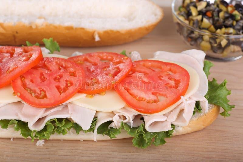 Turkey Sandwich stock photos