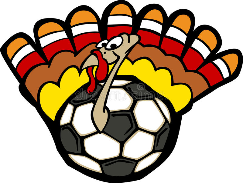 Turkey Soccer Ball. Vector Image of a Soccer Ball Turkey