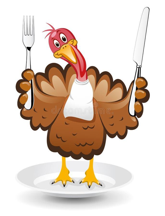 Vector turkey for thanksgiving day. Vector turkey clipart for thanksgiving day