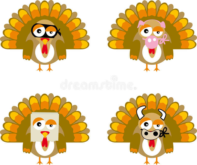 turkey01向量 向量例证