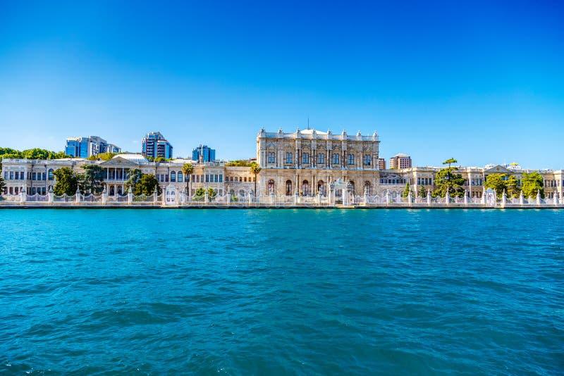 Turkiet Bosphorus slott royaltyfria bilder