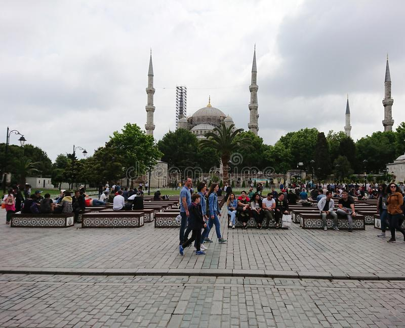 Turkiet Istanbul royaltyfria foton