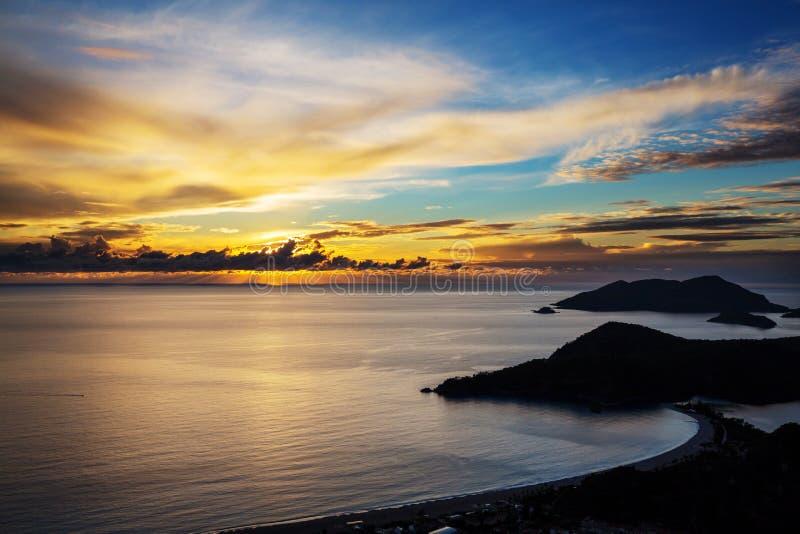 Turkiet kust fotografering för bildbyråer