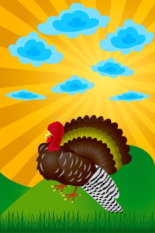 Turkije. Dag van dankzegging. vector illustratie