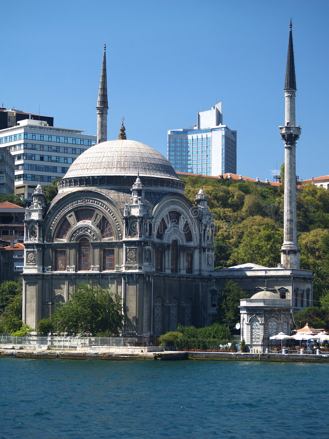 Turkije. Istanboel. Moskee royalty-vrije stock foto's
