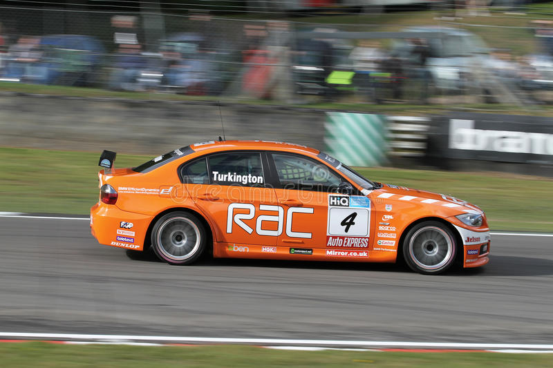 Turkington BTCC royalty free stock photography