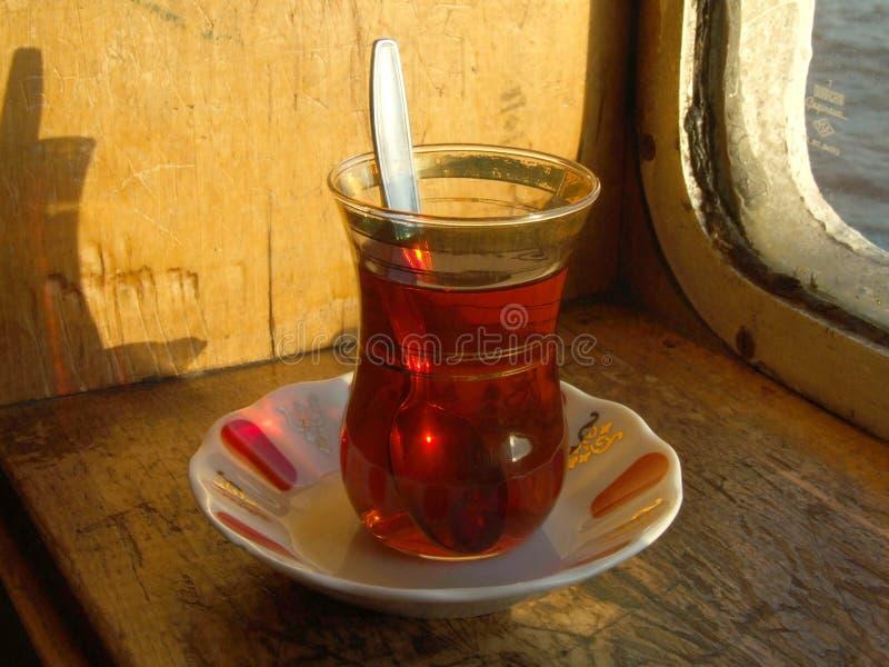turkis tea stock image