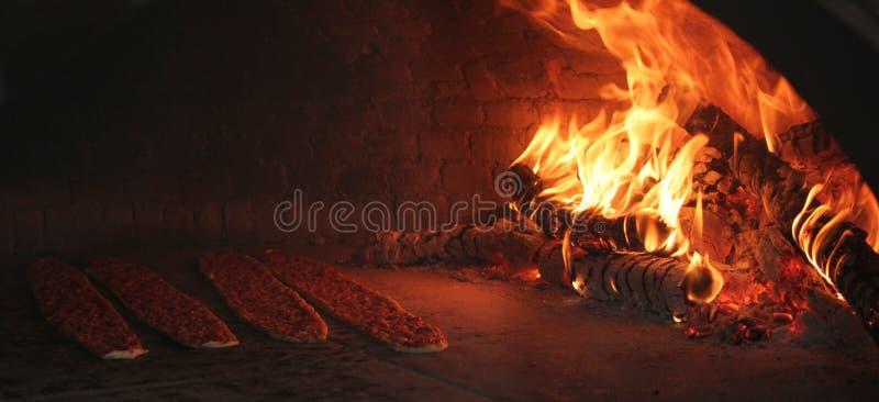 turkish пиццы стоковая фотография rf