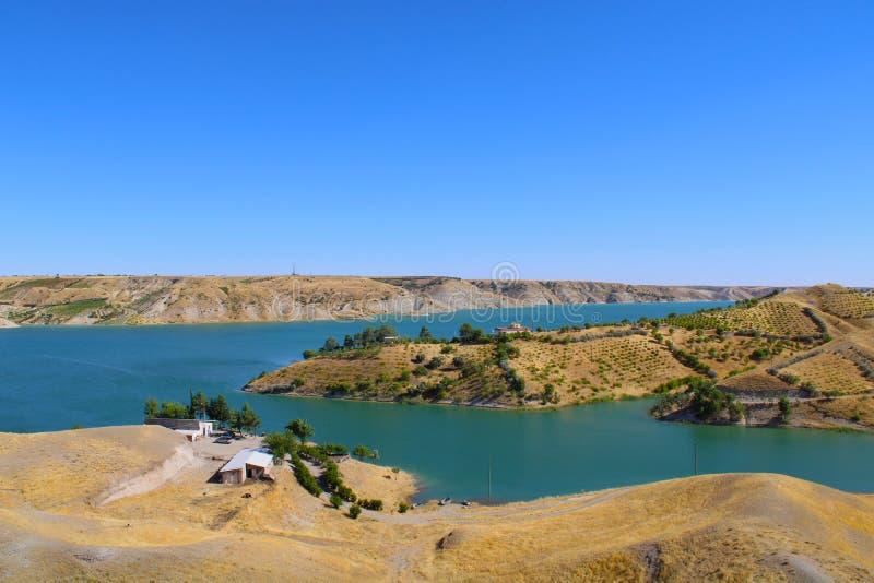 Turkish, Adiyaman, 30 June, - 2019 : Ciplak Baba picnic area. stock images
