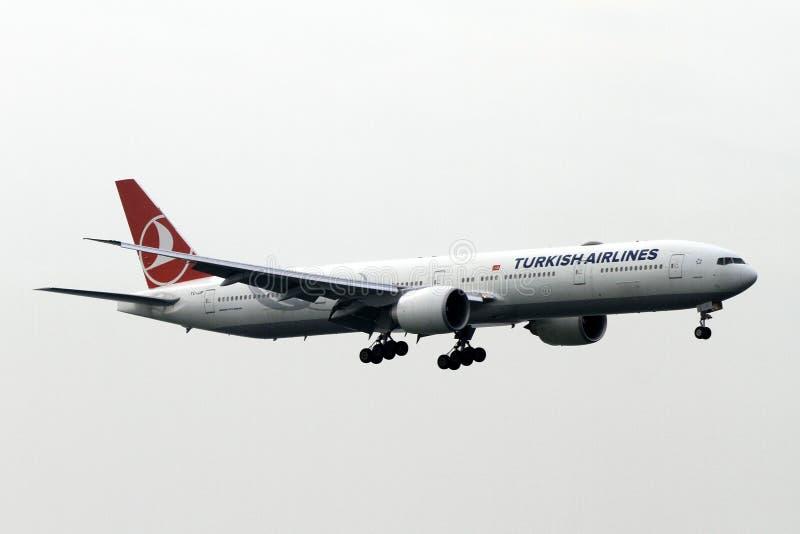 Turkish Airlines imagens de stock