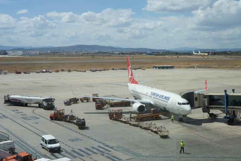Turkish Airlines lizenzfreies stockbild
