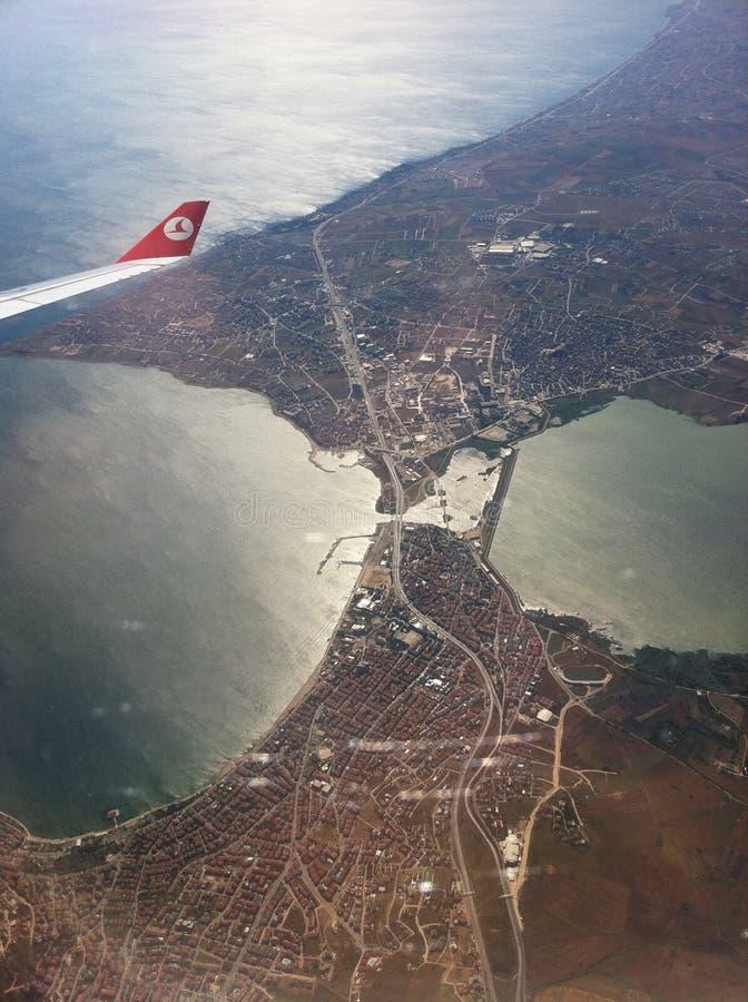 Turkish Airlines fotos de archivo libres de regalías