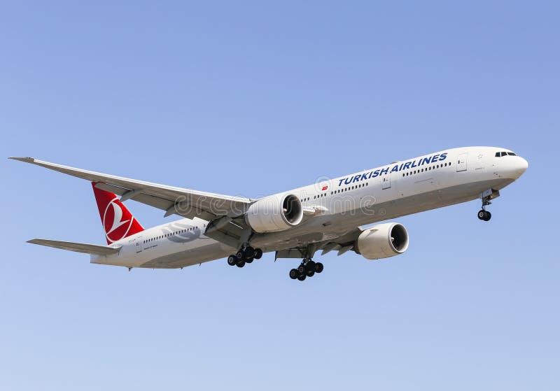 Turkish Airlines stock afbeeldingen