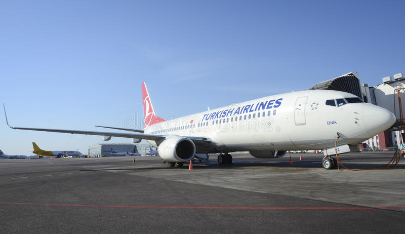 Turkish Airlines photographie stock